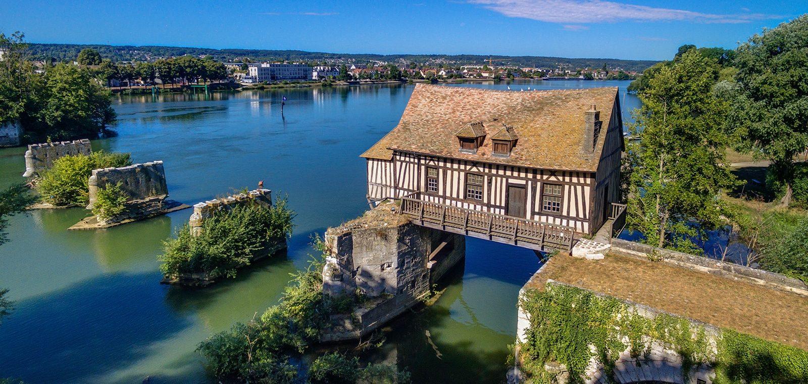 Vieux Moulin de Vernon - Nouvelle Normandie © Franck Godard