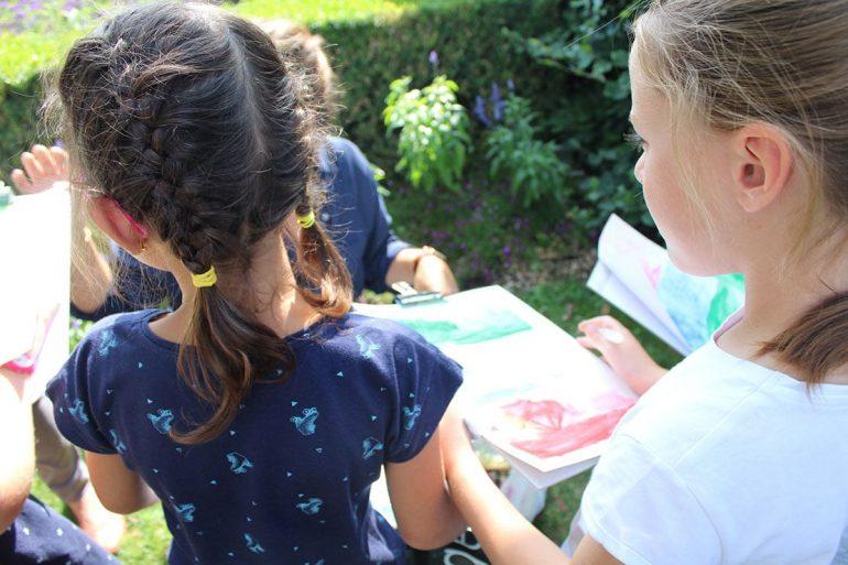 Atelier enfants au musée des impressionnismes Giverny