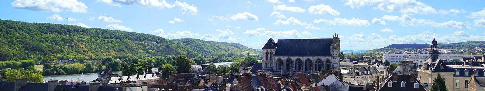 Panorama de Vernon-©Office de Tourisme Nouvelle Normandie