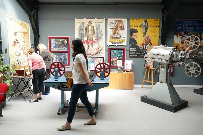 Musée du cinéma Jean Delannoy à Bueil ©Office de Tourisme Nouvelle Normandie