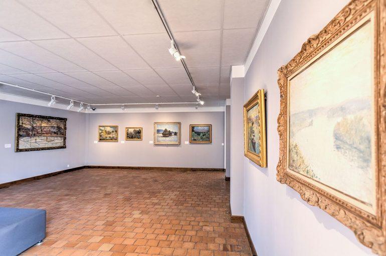 Musée à Vernon. Exposition. Impressionnisme. Nabis. Claude Monet © Franck Godard