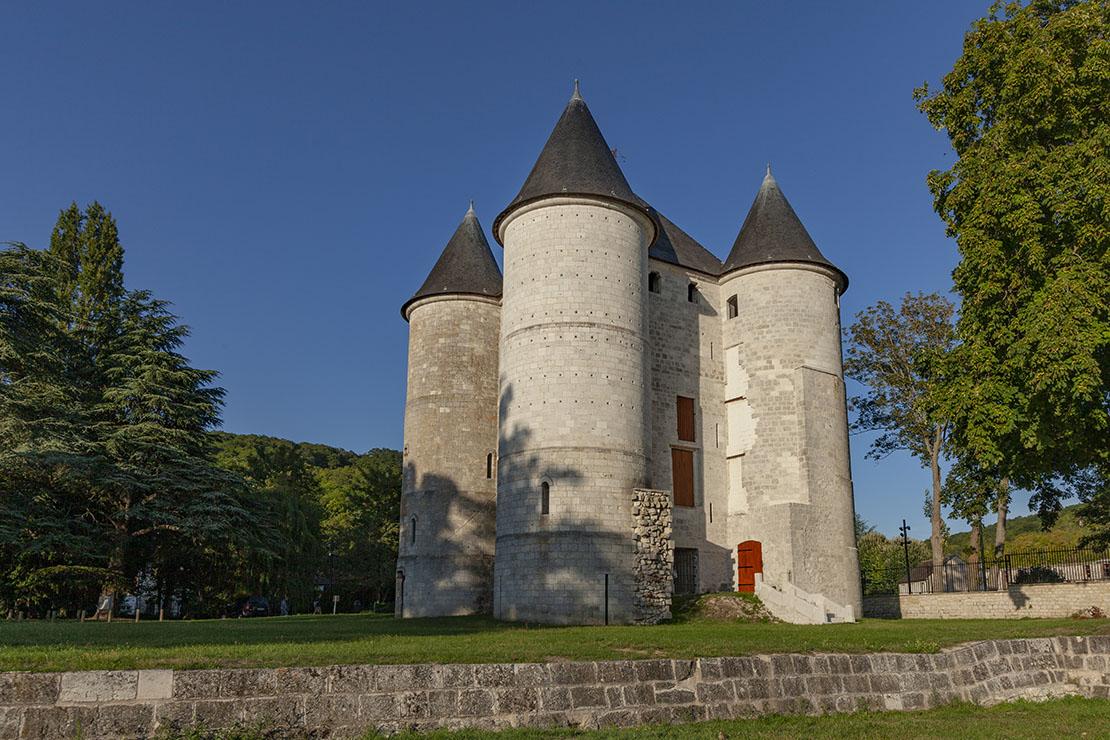 Château des Tourelles à Vernon. Nouvelle Normandie © Franck Godard.