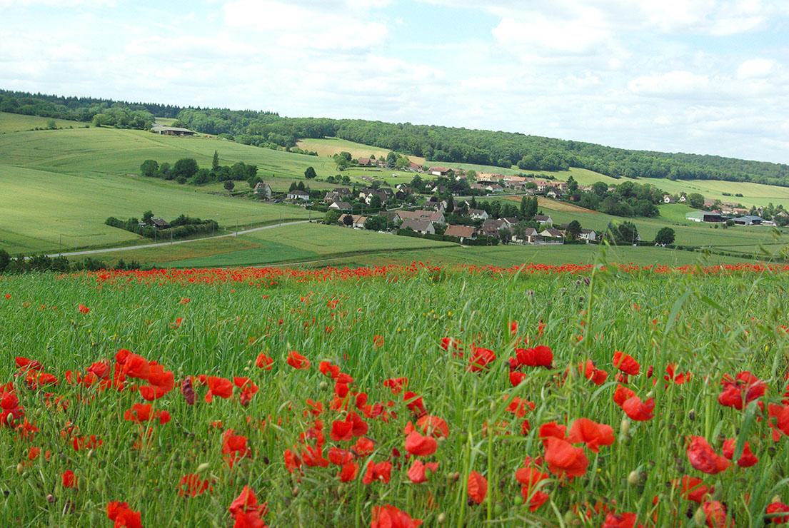 Gasny, vallée de l'Epte ©Office de Tourisme Nouvelle Normandie