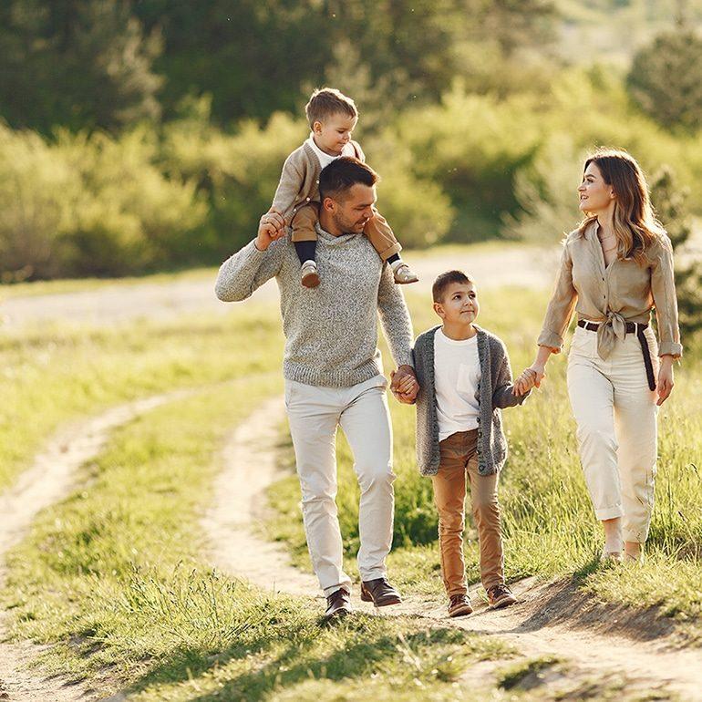 Avec les enfants