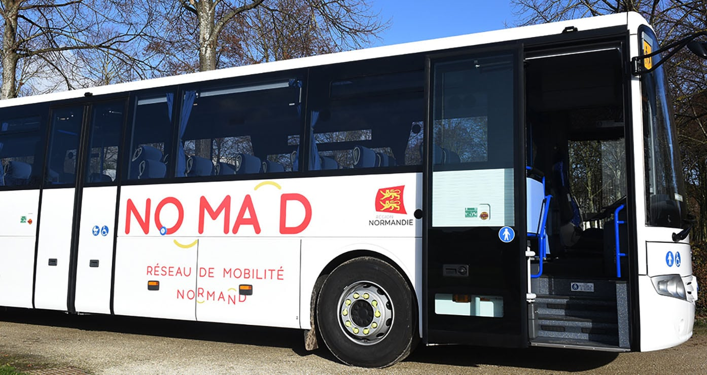Nomad nouveau plan de transport public routier normand