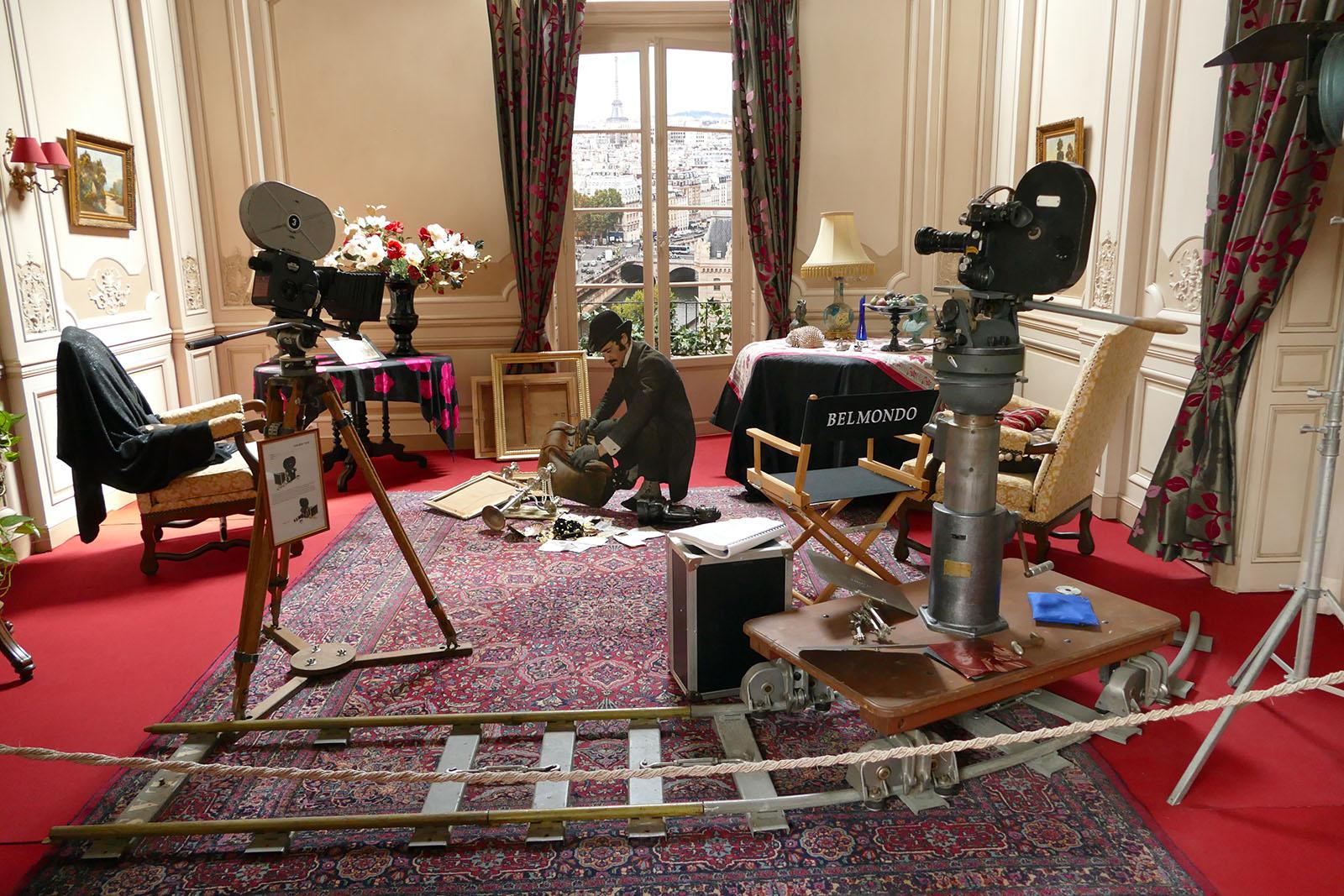 Musée du cinéma à Bueil, en vallée de l'Eure ©-Office de Tourisme Nouvelle Normandie