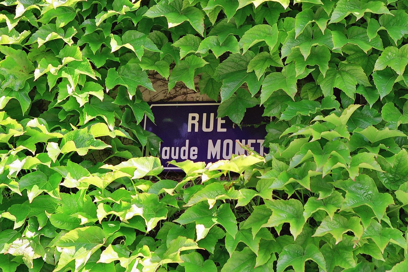 Rue Claude Monet. Giverny. Nouvelle Normandie © Office de Tourisme Nouvelle Normandie
