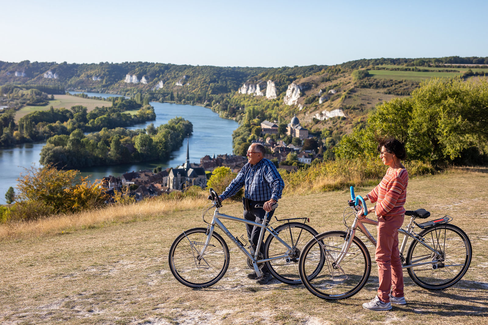 Vélo panorama Seine ©Flick'R-CD27