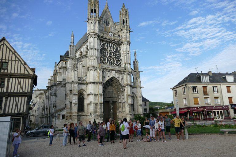 Visite de Vernon ©Office de Tourisme Nouvelle Normandie